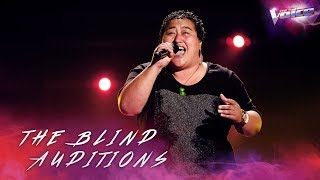 Blind Audition: Aunty Ora sings One and Only | The Voice Australia 2018