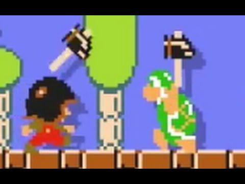 Super Mario Maker 8 3 Remix Hammer Bros Youtube