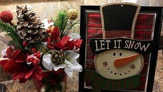 3 Christmas DIYs | Dollar Tree | Home Deco