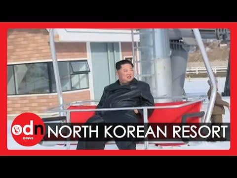 North Korean Leader Unveils New Mountain Resort