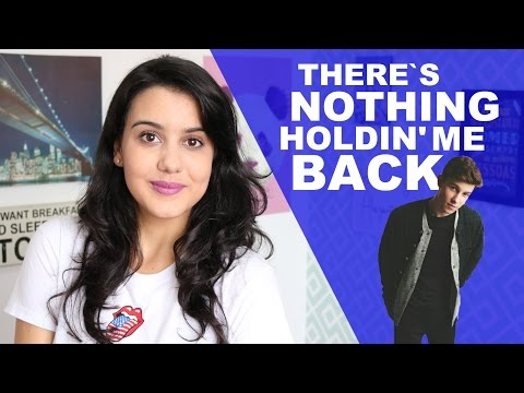 MÚSICA EM INGLÊS - THERE'S NOTHING HOLDIN' ME BACK (Shawn Mendes)