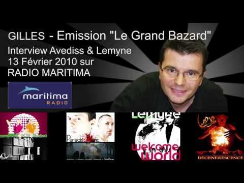 """Interview Avediss & Lemyne """"Radio Maritima"""" Gilles Fenech - 13 fevrier 2010 - www.avediss.fr"""