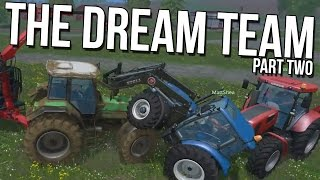 BREAKING PHYSICS - Farming Simulator 15 - [Farming Simulator Funny Moments Co-op Montage]