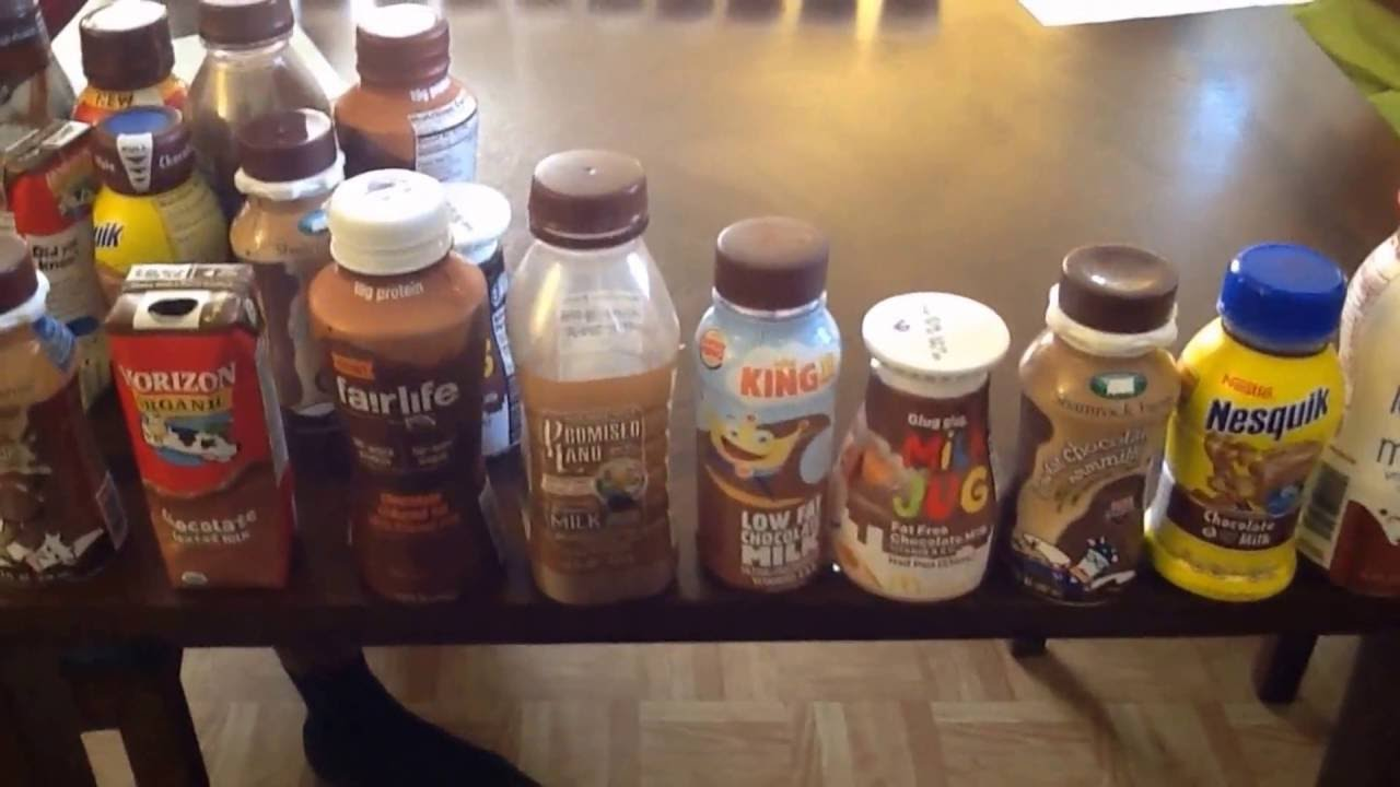 WHICH CHOCOLATE MILK TASTES THE BEST? - YouTube