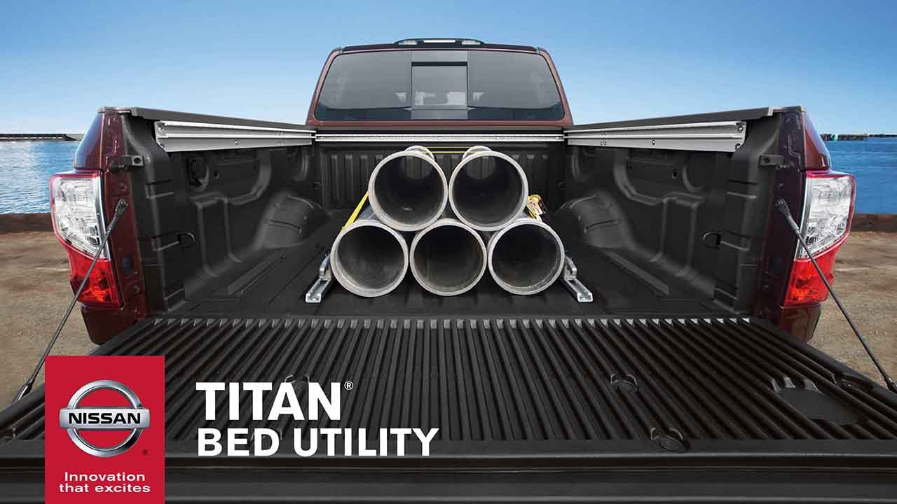 2017 Nissan TITAN | Truck Bed Features, Size U0026 Payload