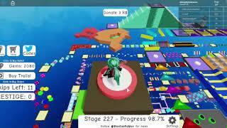 Roblox Mega Fun Obby 2 Hholykukingames Plays Stages 225 To 230