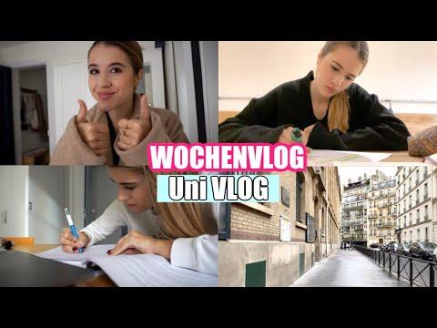 WOCHENVLOG : Erste *schlechte* Noten, STUDY-Time, New Hair ... // JURA STUDENT