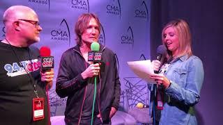 Keith Urban at 2018 CMA Awards Week