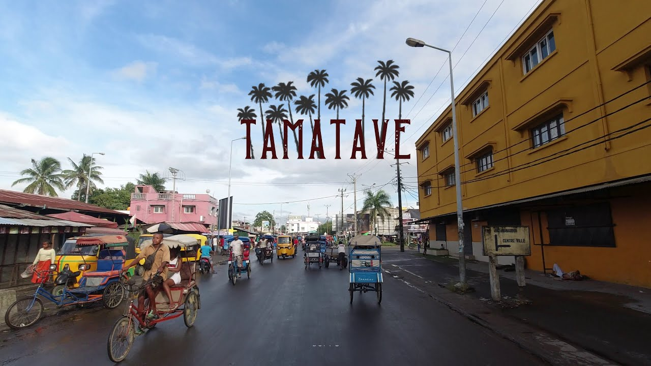 Download DRIVING DOWNTOWN TAMATAVE 🌴 🇲🇬 4K⁶⁰