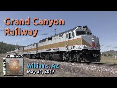 [52][4k] Grand Canyon Railway, Williams, AZ, 05/31/2017 ©mbmars01