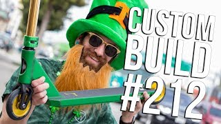 🍀 Custom Build #212 🍀 (St. Patrick's Day Special) │ The Vault Pro Scooters