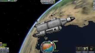 Kerbal Space Program - low-tech Mun science base