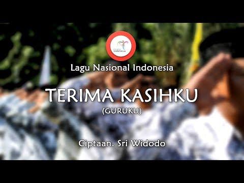 Terima Kasihku (Guruku) - Lirik Lagu Nasional Indonesia