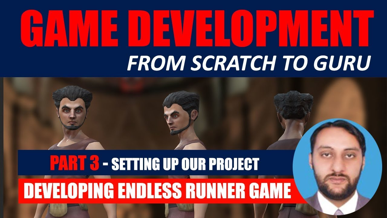 Part 03 - Setting Up The Unity Project - Standard Assets | Game Development From Scratch To Guru