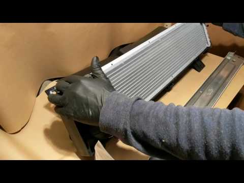 A necessity for racing Porsche Caymans and Boxsters: The middle radiator