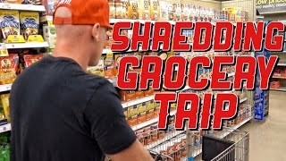 What I Buy To Get Lean | Shredding Diet Grocery Trip