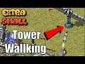 Tower Wallking in Extra Small Map Red Alert 2 Online Multiplayer