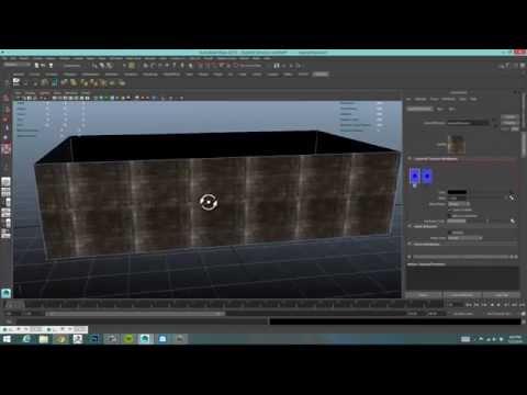 Use multiple UV sets on a single object in Maya 2015