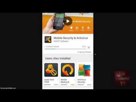 Avast! Mobile Security App For Android Review And Tutorial