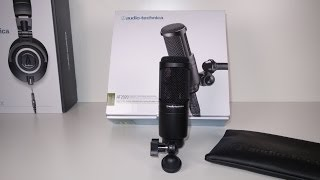 AUDIO TECHNICA AT2020 Unboxing/ First Look!