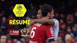 EA Guingamp - OGC Nice (2-5)  - Résumé - (EAG - OGCN) / 2017-18