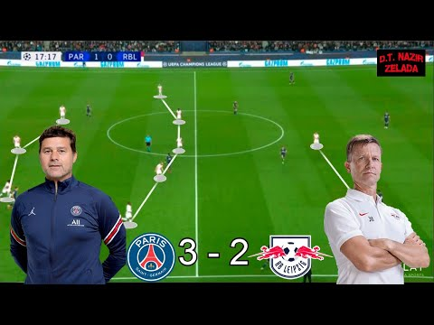 PSG vs RB Leipzig | Tactical Analysis | Champions League 21/22