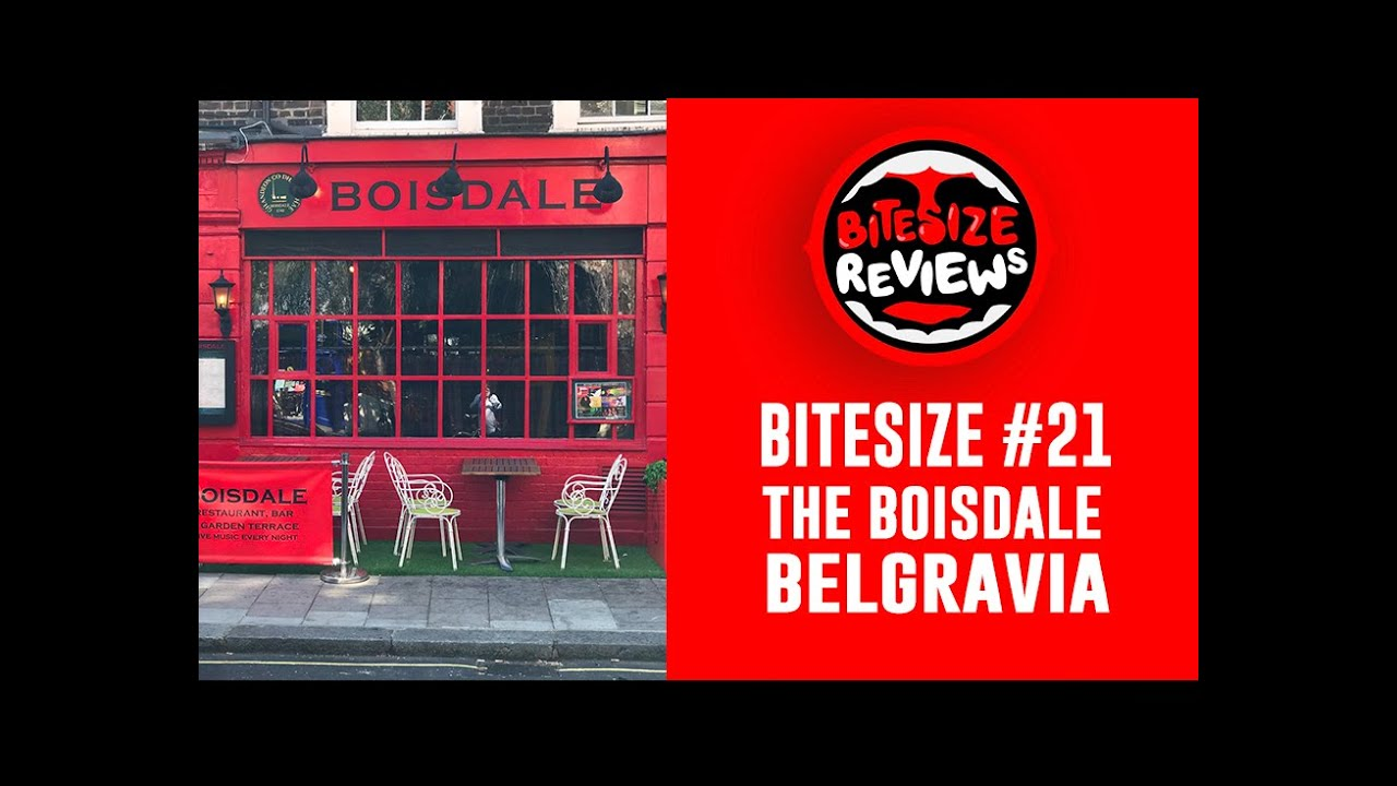 BEST LONDON RESTAURANTS - BOISDALE OF BELGRAVIA