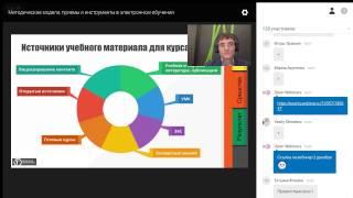 Методические модели приемы и инструменты в электронном обучении: цель, средства, результат