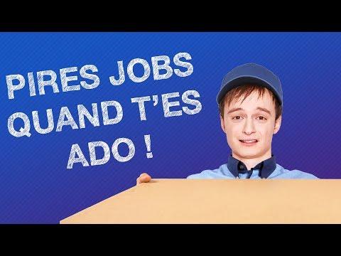TOP #5 DES PIRES JOBS QUAND T'ES ADO