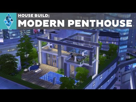 The Sims 4 - House Build - Modern Penthouse