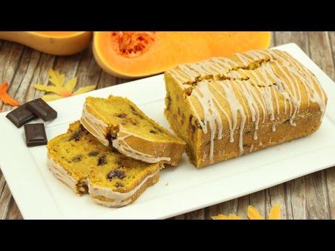 Chocolate Chip Kürbis Brot - Chocolate Chip Pumpkin Bread