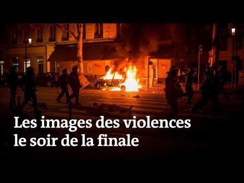 Coupe du monde 2018 : violences après la finale