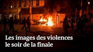 Coupe du monde 2018 : images de violences après la finale