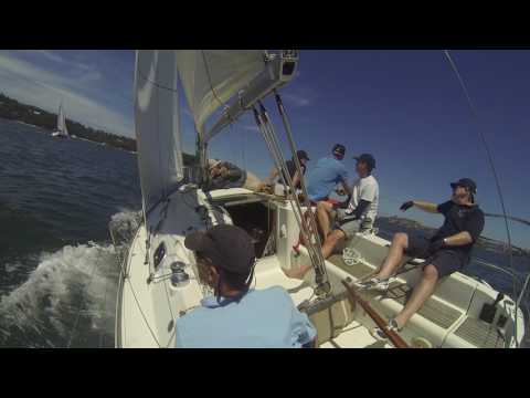 EDV in Beneteau Cup race 2 - Start and first work