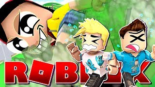 Thou Shall Not Escape My Fart - Roblox Eat or Die with Gamer Chad & MicroGuardian - DOLLASTIC PLAYS!
