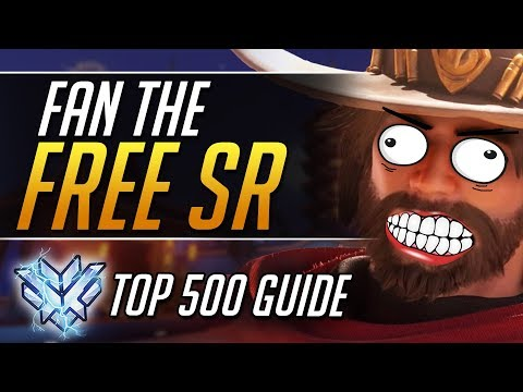 How to go MCCREE GOD - Top 500 Pro Gameplay Tips - Overwatch Guide thumbnail