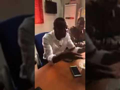 Mr Omoyele Sowore was live in Ogun state, Nigeria.