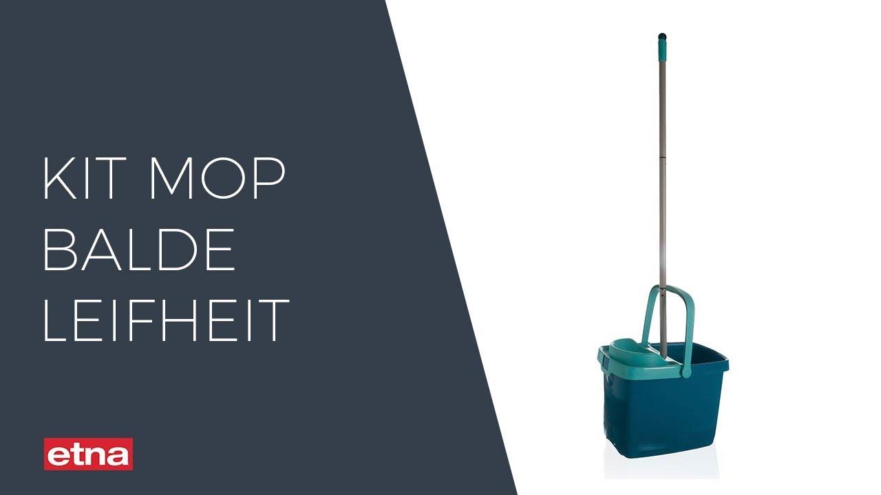 Kit Mop Balde Leifheit Classic Colors Youtube