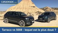 Comparatif - Seat Tarraco vs Peugeot 5008 : duel au soleil