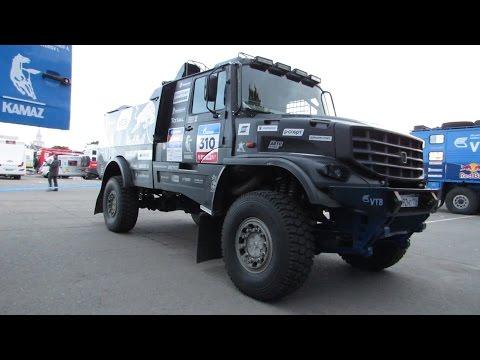 New KAMAZ MASTER Dakar Rally Raid truck with hood - Капотный Камаз