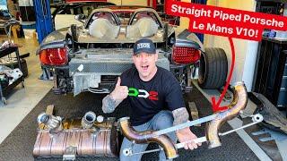 Download INSANE STRAIGHT PIPED $1,000,000 PORSCHE CARRERA GT!  * V10 Le Mans Engine*