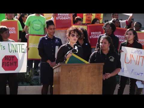 CCSA's Press Conference on the NAACP's Task Force on Quality Education LA Hearing