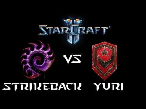 StarCraft 2 - Yuri [T] vs StrikeBack [Z] (Commentary)