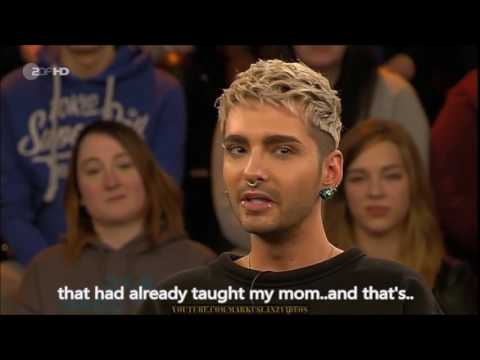 Bill Kaulitz at Markus Lanz (ZDF) 2017 - English subs