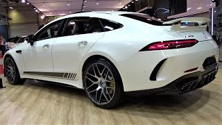 2020 Mercedes-AMG GT63 S 4MATIC+ 4 Door Coupe - Interior, Exerior, Walkaround - Sofia Auto Show 2019