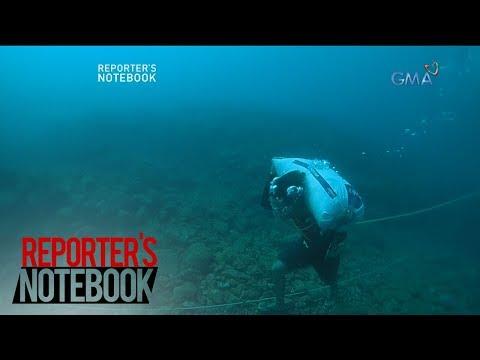 Reporter's Notebook: Pagmimina sa ilalim ng dagat, hanapbuhay ng isang pamilya sa Visayas