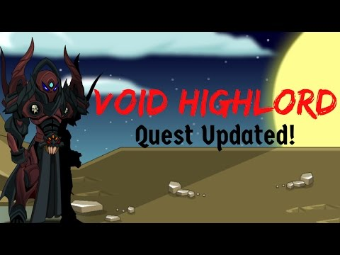 AQW - Void HighLord Quest Updated: Roentgeniums of Nulgath!!