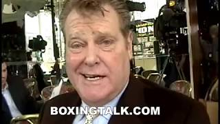 Dan Goossen Chops It Up With Boxingtalk and Tom Hauser, James Toney Minked Out!