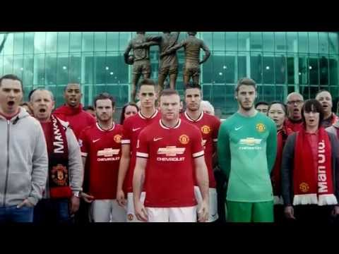 Manchester United reveal 2014-15 Nike Home Kit