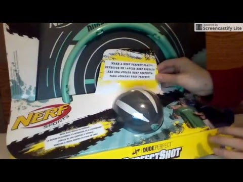 Dude Perfect NERF Mini Basketball Hoop| Unboxing And Review